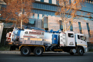 Werner Pumps already acting on Ramaphosa's call to manufacture locally with new recycling jetting trucks